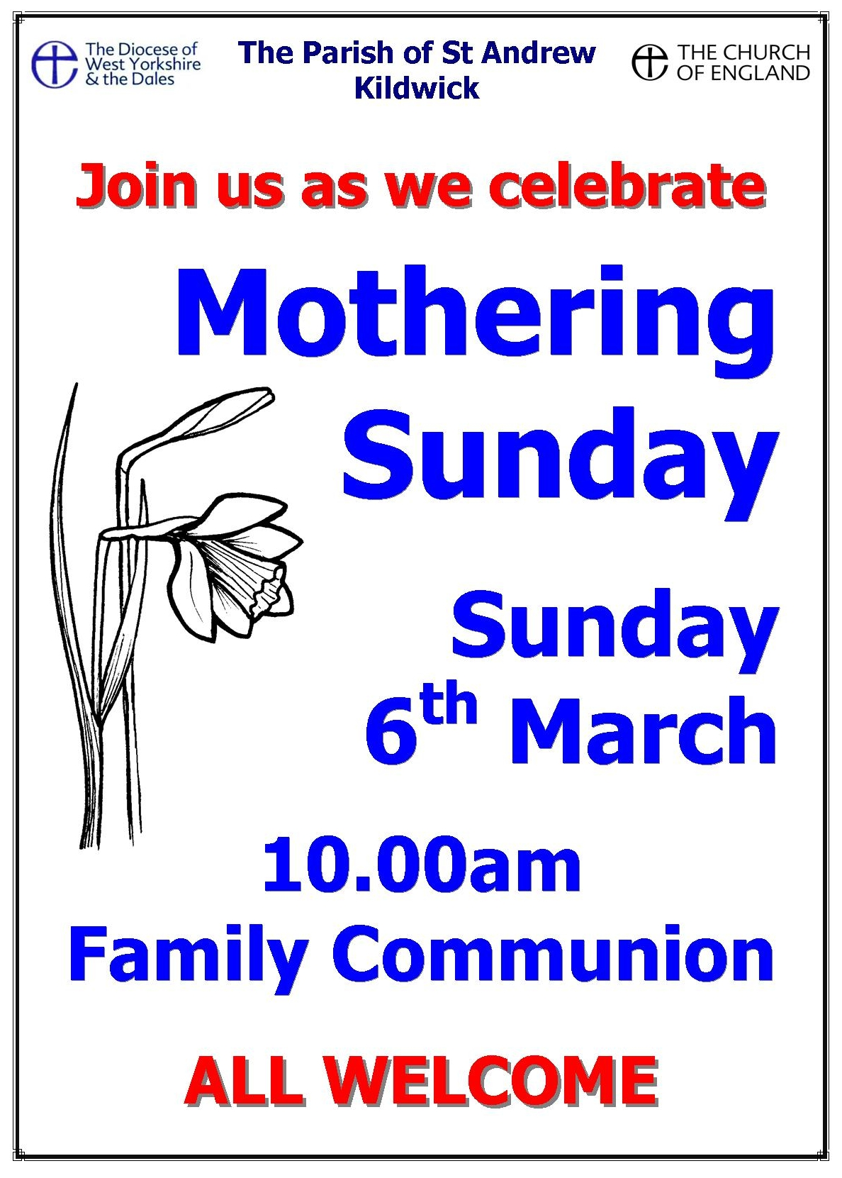 Mothering Sunday 6mar16